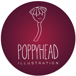 Poppyhead illustration